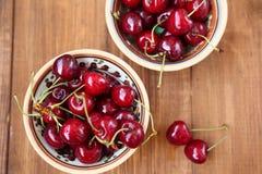 белизна изоляции вишни сладостная Стоковая Фотография RF