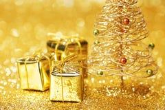 белизна изоляции декора рождества Стоковая Фотография