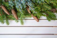 белизна изоляции декора рождества Стоковое Фото