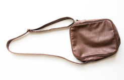 белизна изоляции мешка коричневая Стоковое Фото