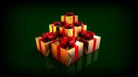 белизна изоляции подарков рождества иллюстрация вектора