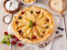 белизна изоляции плодоовощ торта Стоковые Изображения