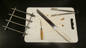 белизна инструмента кухни предпосылки изолированная иллюстрацией Стоковое Изображение