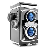 белизна камеры предпосылки старая Стоковые Изображения