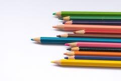 белизна карандаша конструкции цвета предпосылки вы Стоковое Фото