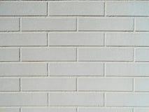 белизна кирпичной стены предпосылки Стоковая Фотография RF