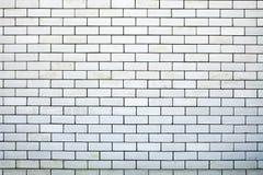 белизна кирпичной стены предпосылки Стоковые Изображения RF