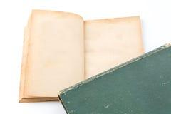 белизна книги старая Стоковые Изображения