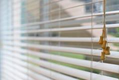 Белизна комнаты ослепляет улавливать солнечный свет Стоковые Фото