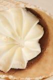 белизна конуса cream изолированная льдом Стоковое Изображение RF
