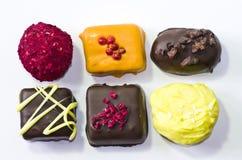 белизна конфеты предпосылки Стоковое Фото