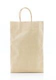 белизна коричневой бумаги мешка предпосылки Стоковые Изображения RF