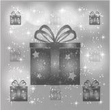 белизна коробки изолированная подарком иллюстрация штока