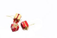 белизна коробки изолированная подарком Стоковое фото RF