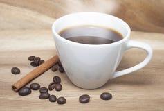 белизна кофейной чашки Стоковая Фотография