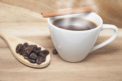 белизна кофейной чашки Стоковое Изображение RF