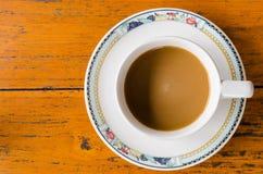 белизна кофейной чашки стоковое фото rf