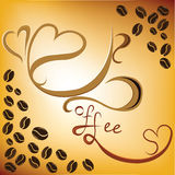 белизна кофейной чашки Стоковое Фото