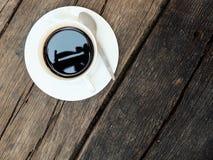 белизна кофейной чашки Стоковая Фотография RF