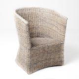 Белизна кресла Wicker Стоковое Изображение RF