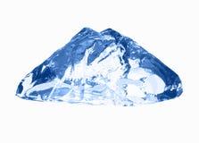 белизна кубика изолированная льдом Стоковая Фотография RF