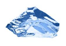 белизна кубика изолированная льдом Стоковое Фото