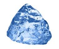 белизна кубика изолированная льдом Стоковое фото RF