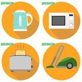 белизна кухни иллюстрации предпосылки приборов бесплатная иллюстрация