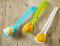 белизна макарон еды предпосылки младенца сырцовая Стоковое фото RF