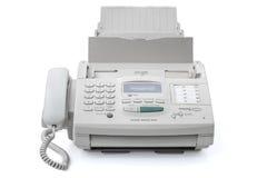 белизна машины иллюстрации факса предпосылки стоковая фотография rf