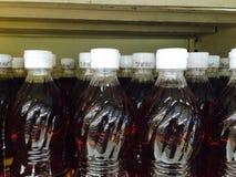 белизна модели бутылки 3d пластичная Стоковые Изображения RF