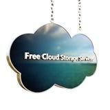 белизна модели иконы облака 3d Стоковое Изображение