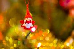 белизна настроения 3 шариков изолированная рождеством Стоковое Изображение