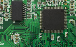 белизна обработчика модели компьютера 3d Стоковые Изображения RF