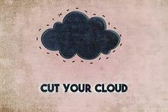 белизна облака Стоковые Фотографии RF