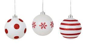 белизна орнамента рождества Стоковые Фото