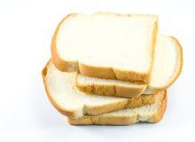 белизна отрезанная хлебом Стоковая Фотография RF