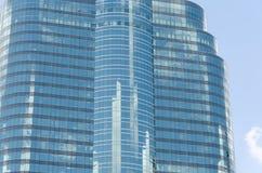 белизна офиса части здания предпосылки изолированная стеклом Стоковое Изображение