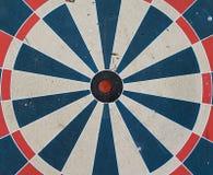 белизна одиночной цели изображения центра предпосылки 3d Стоковая Фотография RF