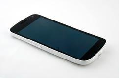 Белизна переключенная с smartphone стоковое изображение rf