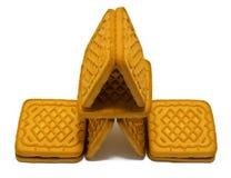 белизна печенья Стоковое Фото