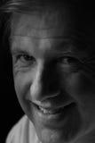 белизна портрета ориентации чернокожего человек Стоковая Фотография RF