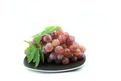 белизна предпосылки изолированная виноградиной красная Стоковое Изображение