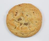 белизна предпосылки изолированная печеньем стоковое фото