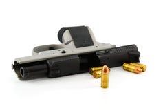 белизна предпосылки изолированная пушкой Стоковые Фото