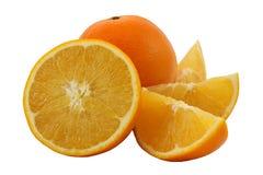 белизна предпосылки изолированная плодоовощ померанцовая Стоковая Фотография RF