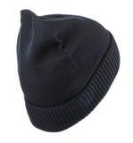 белизна предпосылки изолированная шлемом связанный шлем голубой шлем Стоковое Фото