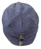 белизна предпосылки изолированная шлемом связанный шлем голубой шлем Стоковое Изображение RF