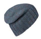 белизна предпосылки изолированная шлемом связанный шлем зеленый шлем Стоковое Фото