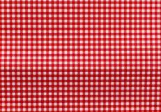 белизна предпосылки checkered красная Стоковые Изображения RF